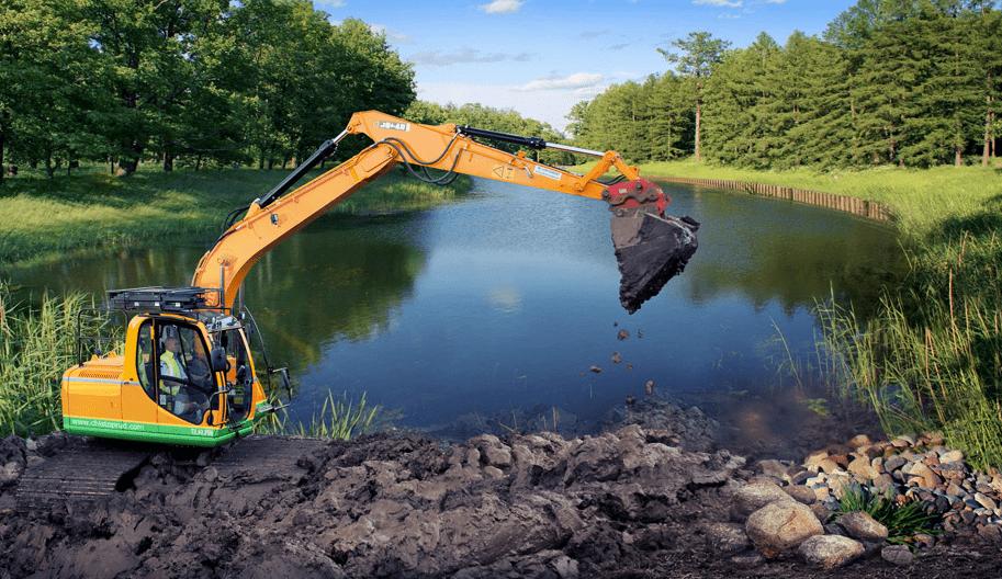 Очистка прудов - фото